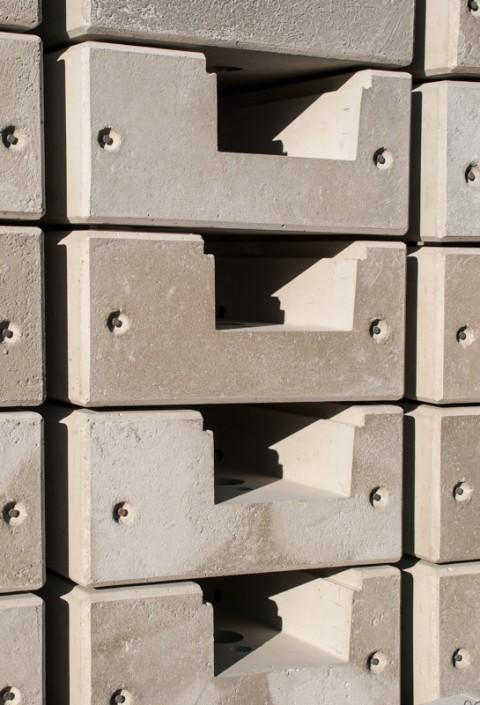 Randbalken aus Beton