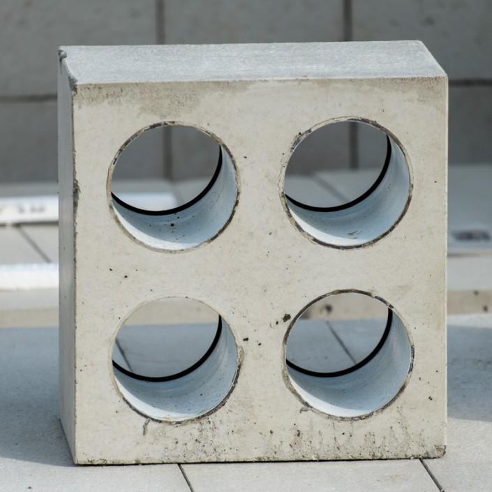 Muffenstein aus Beton