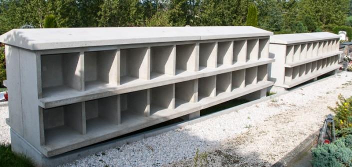 Foto von Urnennischen aus Beton in Pörtschach