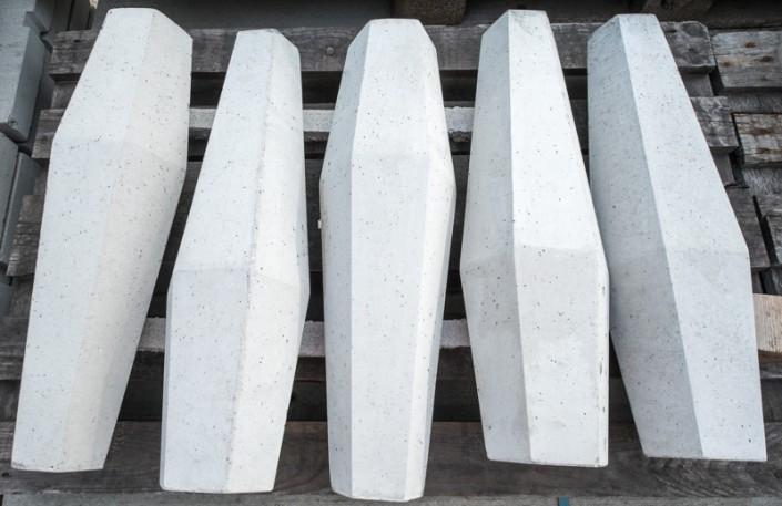 Blumenvasen aus Beton