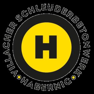 Foto gelb-schwarzes Logo der Firma Villacher Schleuderbetonwerk Habernig GmbH